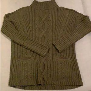 A&F turtleneck sweater